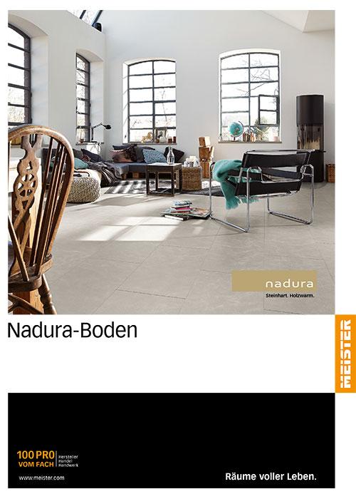 Nadura Boden-Katalog von Bauelementehandel & Montageservice Rainer Schüll