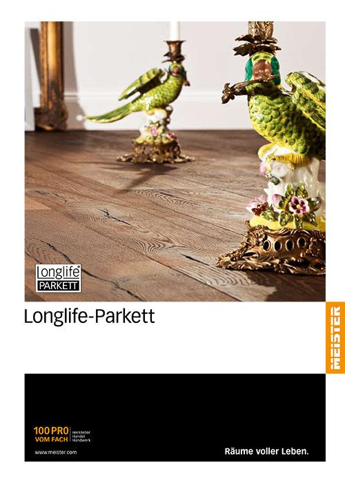 Longlife-Parkett Katalog von Bauelementehandel & Montageservice Rainer Schüll