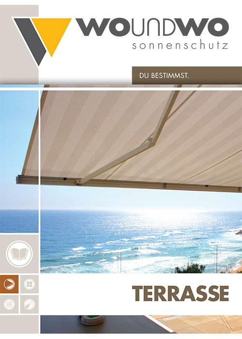 Katalog Terrasse - Markisen und Raffstore von Bauelementehandel & Montageservice Rainer Schüll