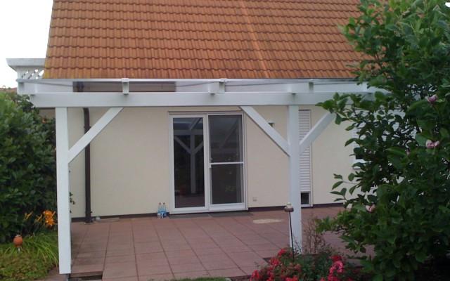 Terrassenüberdachung aus Holz von Bauelementehandel & Montageservice Rainer Schüll